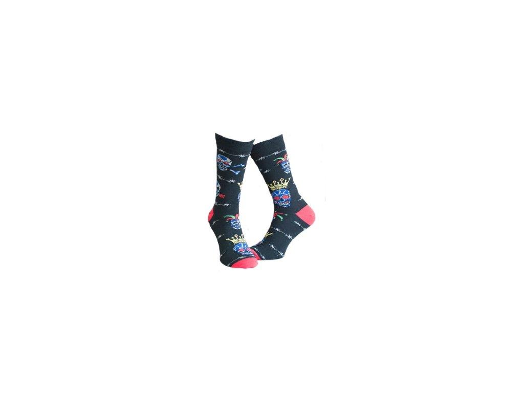 Ponožky s lebkou 313
