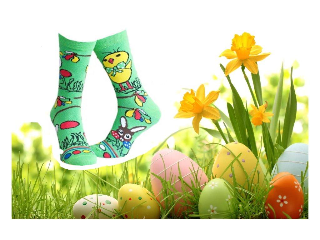 Ponožky Velikonoce 314