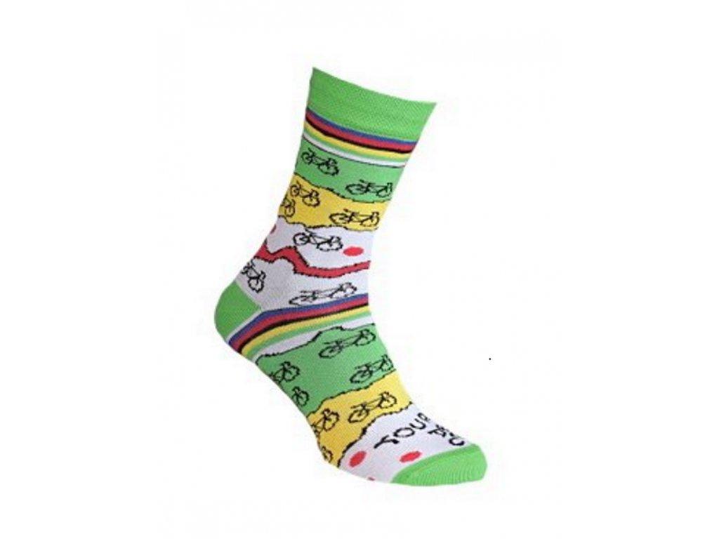 Ponožky TOUR DE CRAZY 609