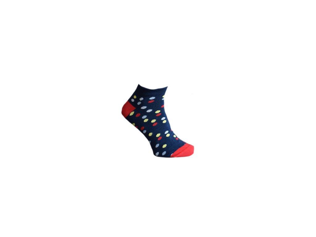 Ponožky s puntíky 510