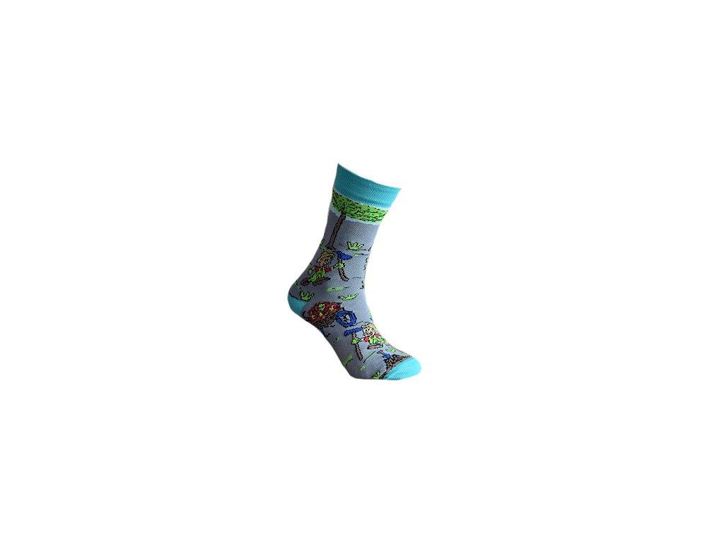 Ponožka Zahradník 601