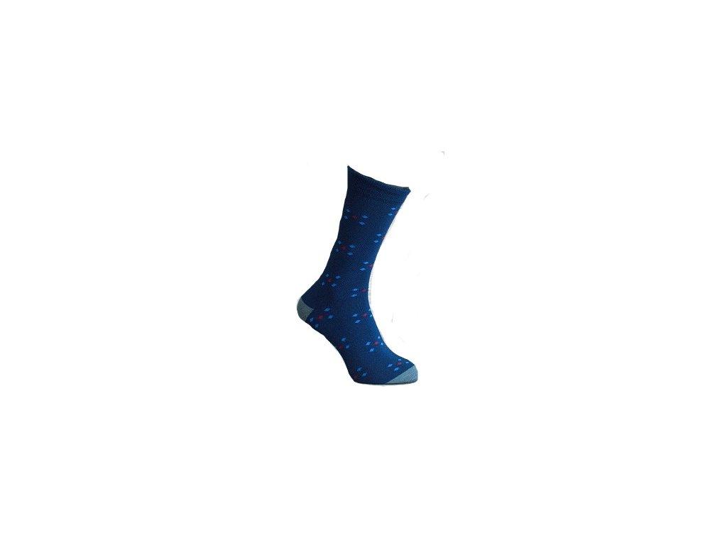 Ponožky jemný puntík 110