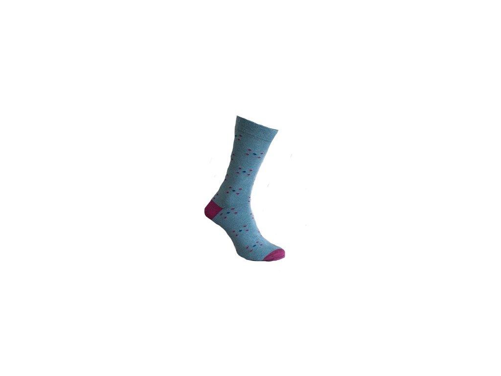 Ponožky jemný puntík 112