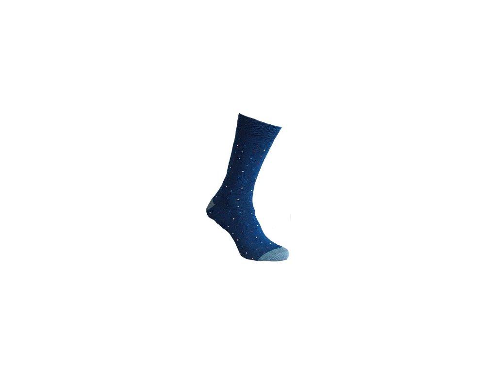 Ponožky jemný puntík 120
