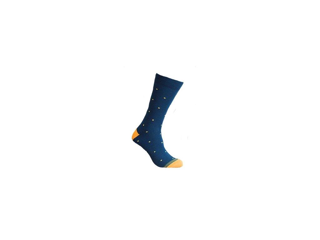 Ponožky jemný puntík 160