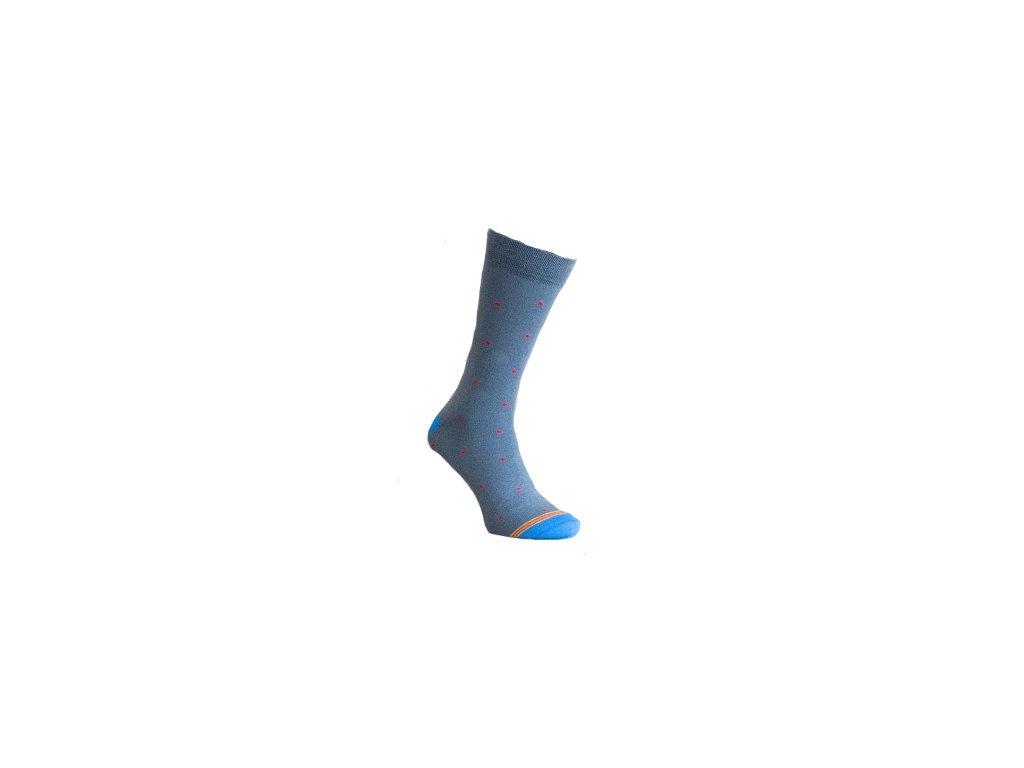 Ponožky jemný puntík 161