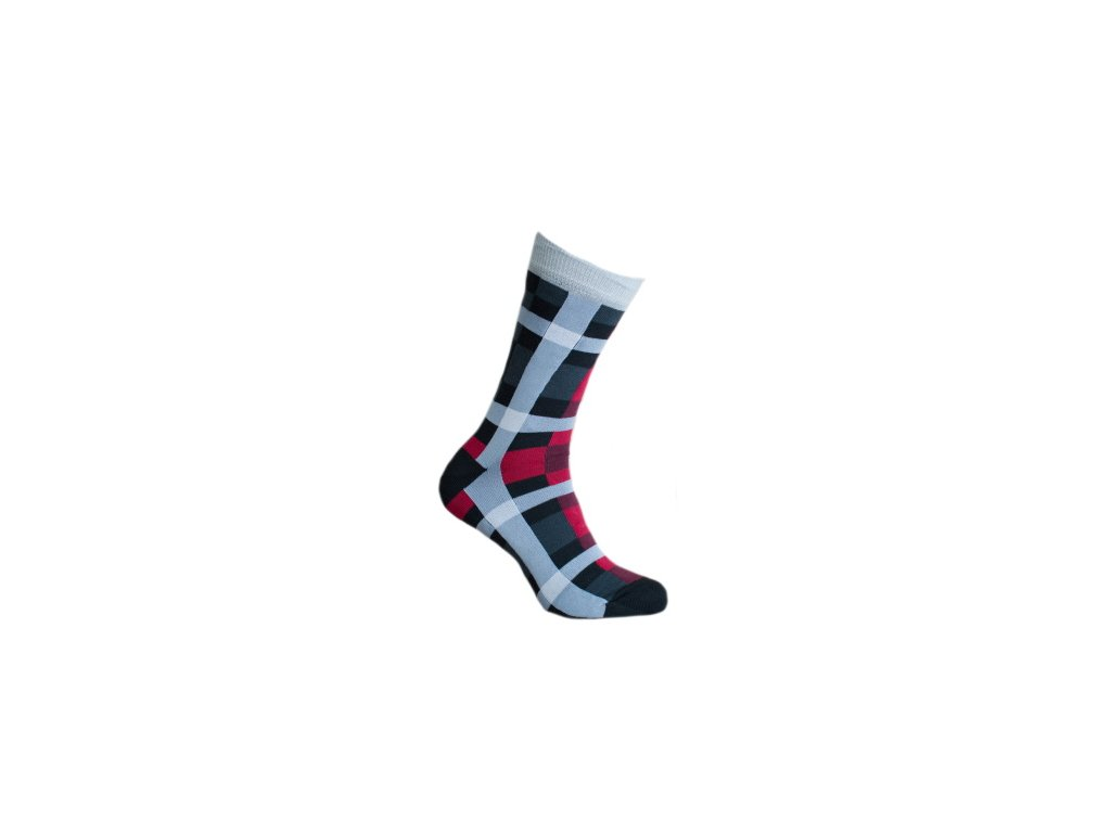 Ponožky jemná kostka 899