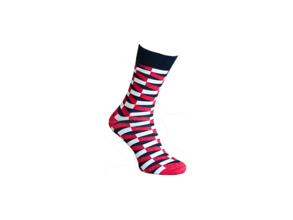 Ponožky 3D schody