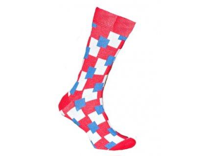 Ponožky kostky 148