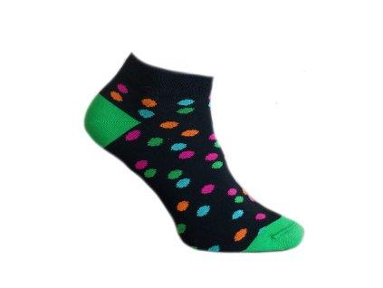 Ponožky s puntíky 511