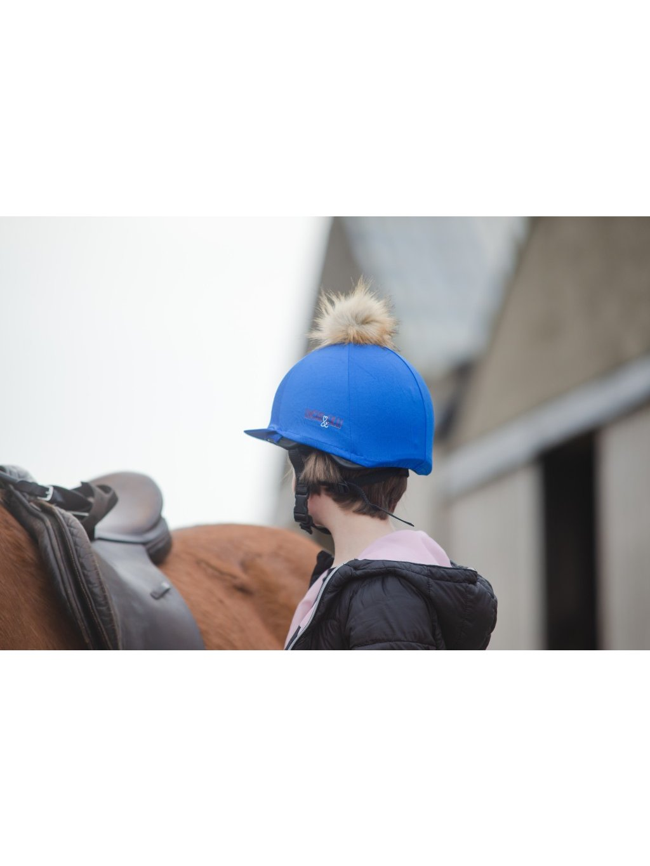 Modrý potah na helmu Lucas&Lilli BLUE