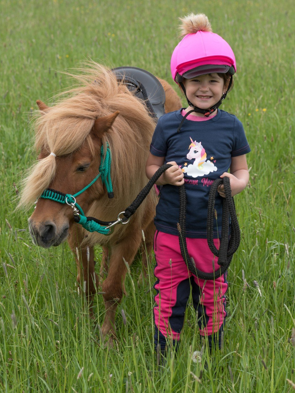 Dětské jezdecké triko Unicorn Magic