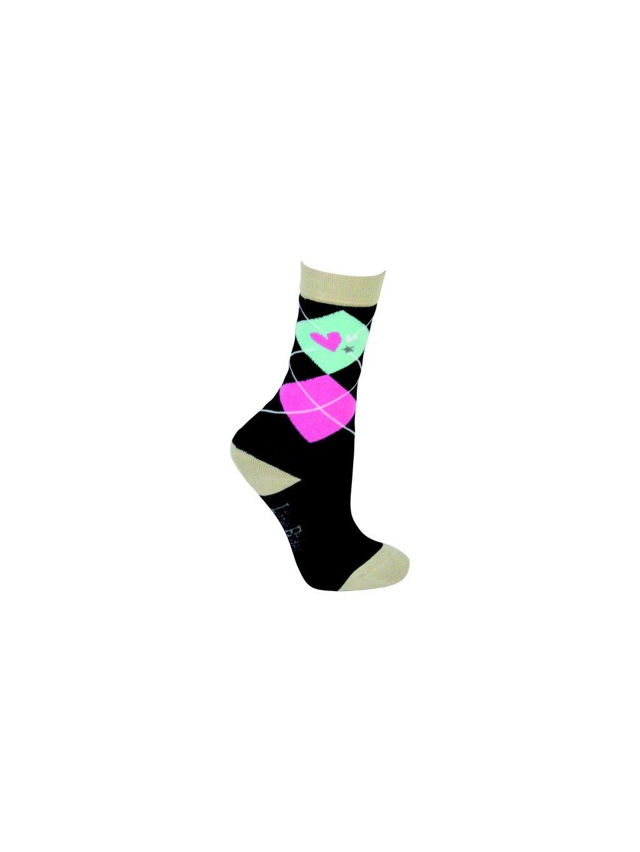 Dětské jezdecké bambusové ponožky I Love My Pony - 3 páry