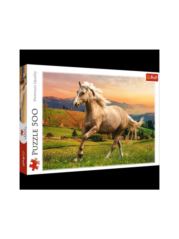 Puzzle Cválající kůň