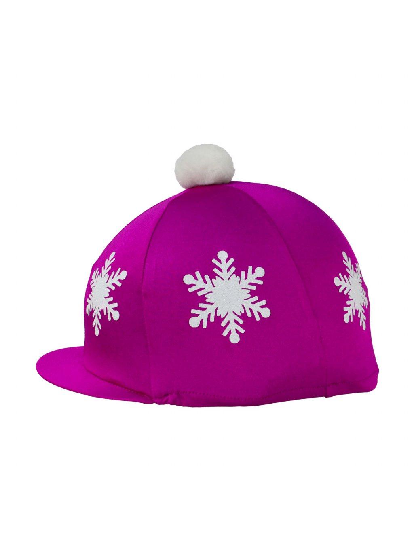 PR 20547 HyFASHION Snowflake with Pom Pom Hat Cover 01