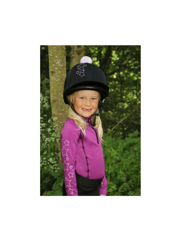 PR 27851 Hy Equestrian Stella Childrens Base Layer 09