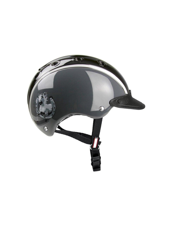 jezdecka helma casco nori unicorn 52 56 jaro21
