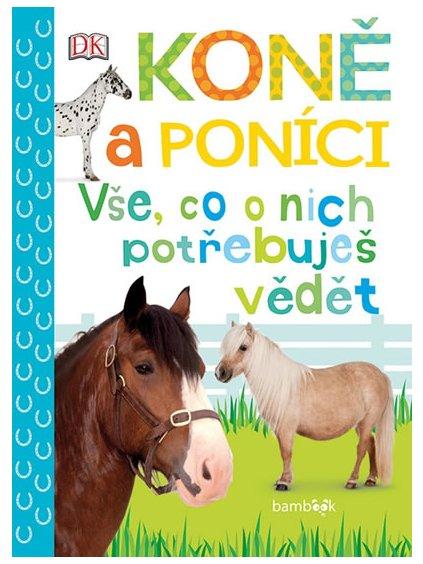 Koně a poníci vše co o nich potřebuješ vědět