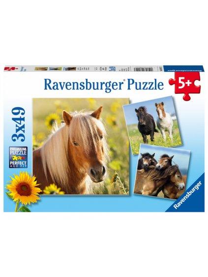 Puzzle Sladcí poníci