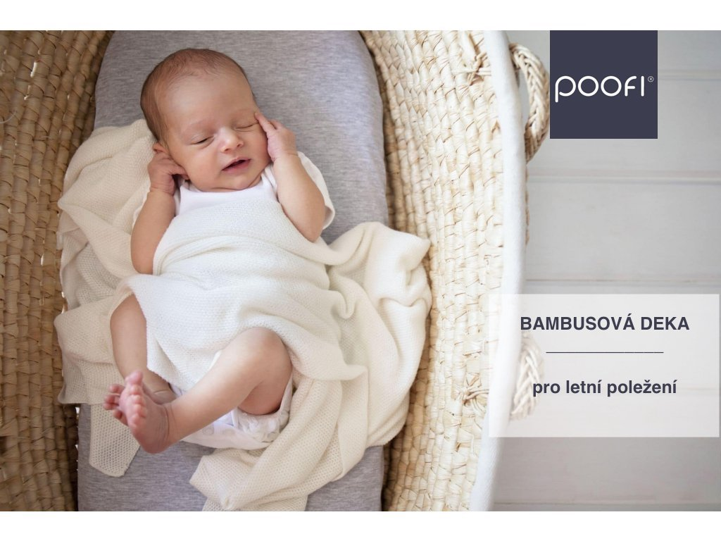 Bambusová deka pure - pro letní dny