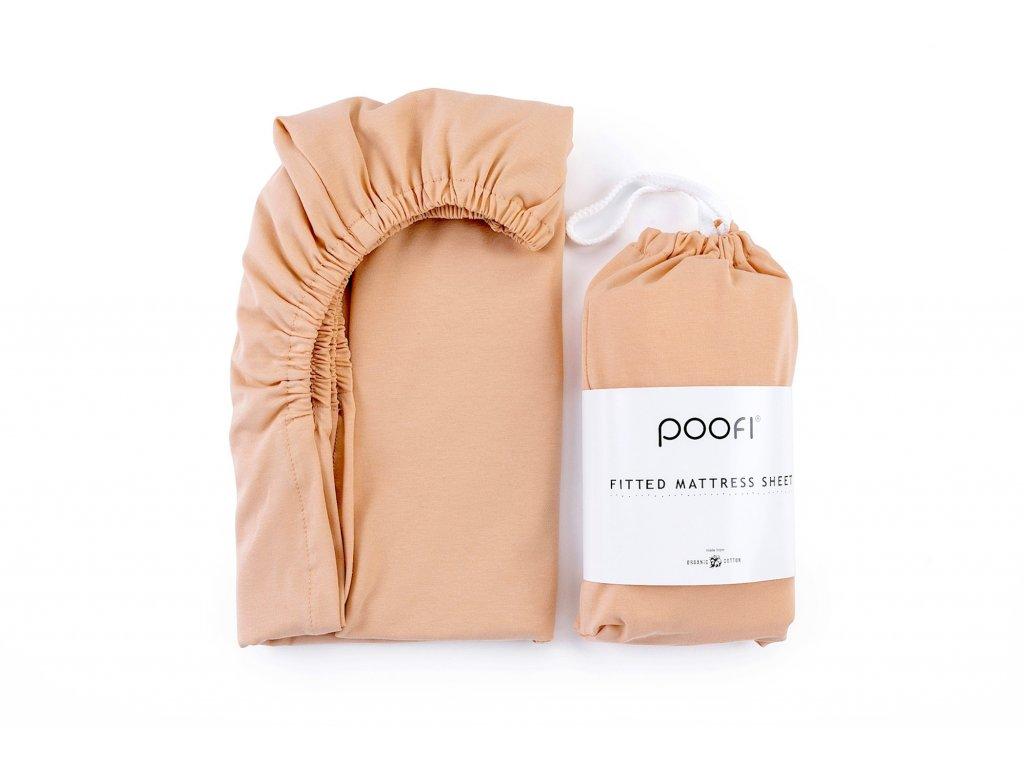 prosteradlo z organicke bavlny 60 x120 cm merunka do postylky pro deti