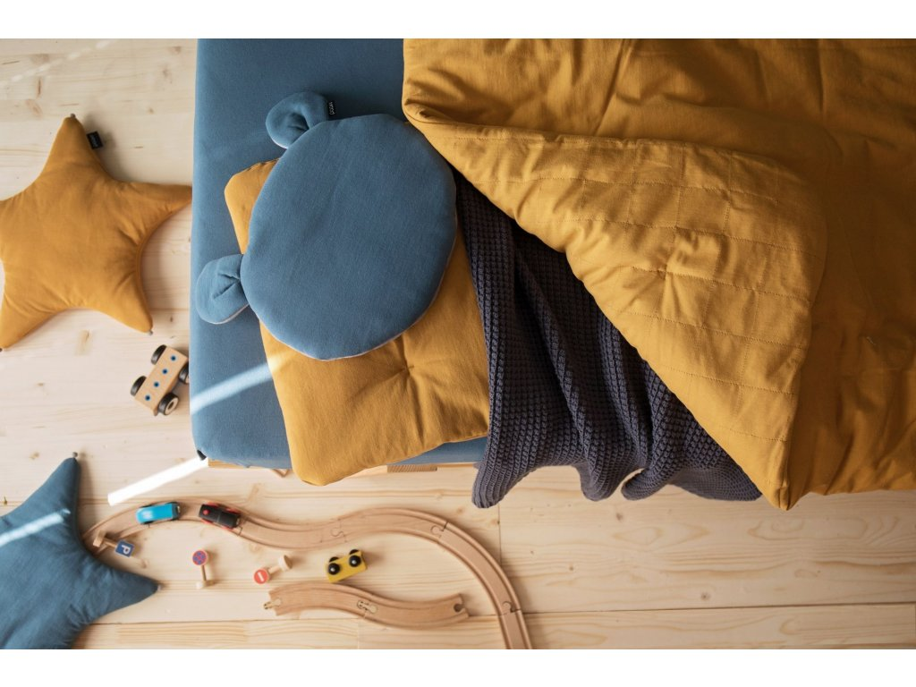 teddy bear polstarek poofi organic color povleceni pro deti