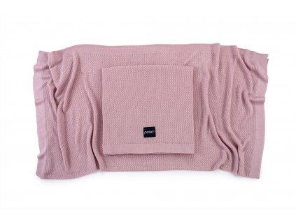 Lehká pletená bambusová deka Vintage