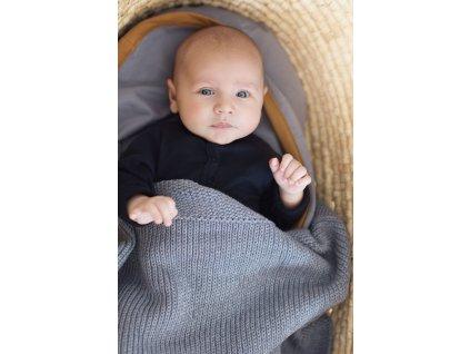 deka pro deti pletena organicka seda