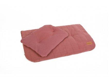 PF305 Lozni pradlo z organicke bavlny krisťalove Duvet 60x70 Polstar 25x30 organicke a barevne
