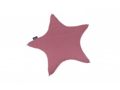 PF015 Polstar hvezdicka karminovy organicka a barva Poofi pro deti
