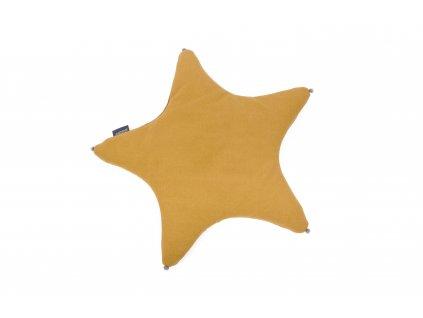 PF016 Polstarova hvezdicka horcice med organicka barva Poofi