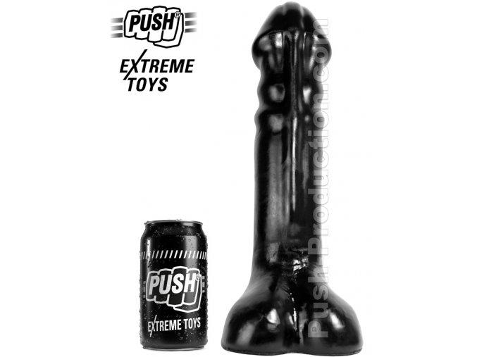 extreme dildo soldier push toys pvc black mm31