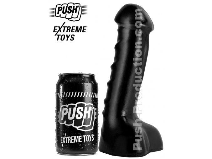 extreme dildo trooper medium push toys pvc black mm11