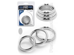 push steel 3 ring set small