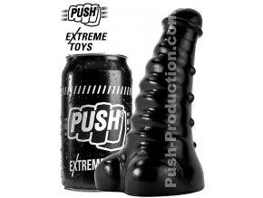 extreme dildo slugger small push toys pvc black mm67