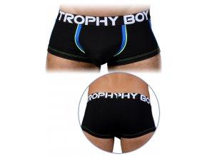 91125 blk andrew christian trophy boy boxer black