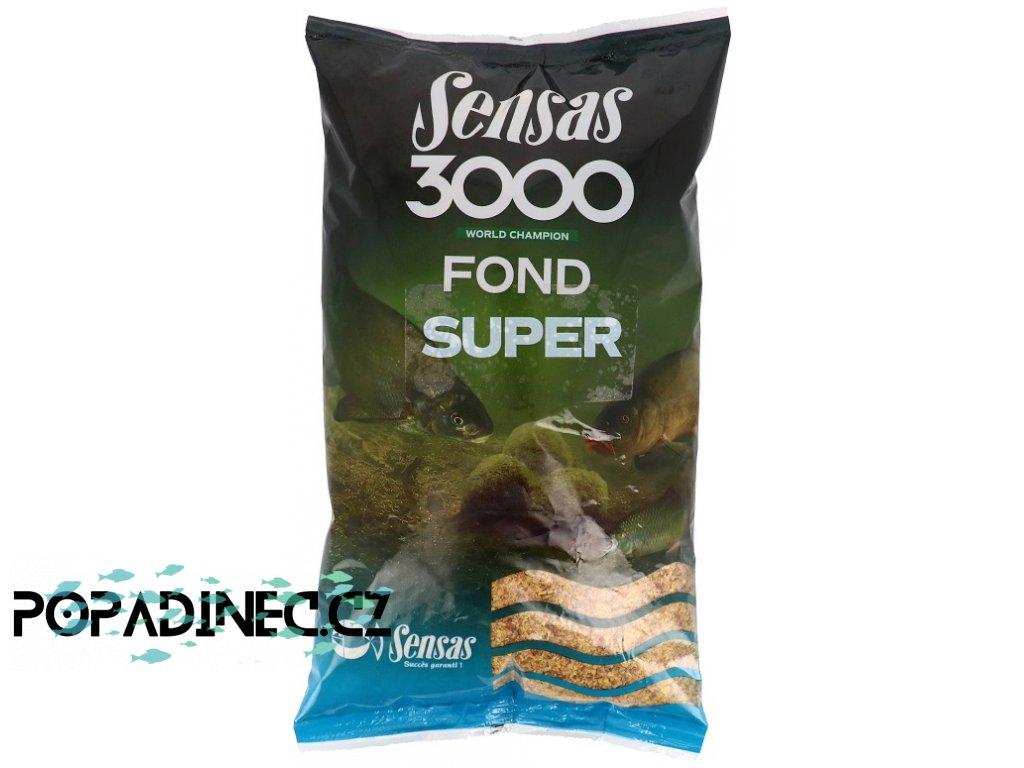 3000 Super Fond (řeka) 1kg Krmení 3000 Super Fond (řeka) 1kg