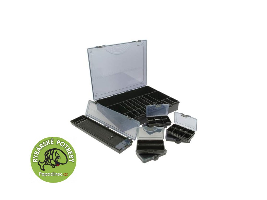ngt deluxe storage box 7 1 black