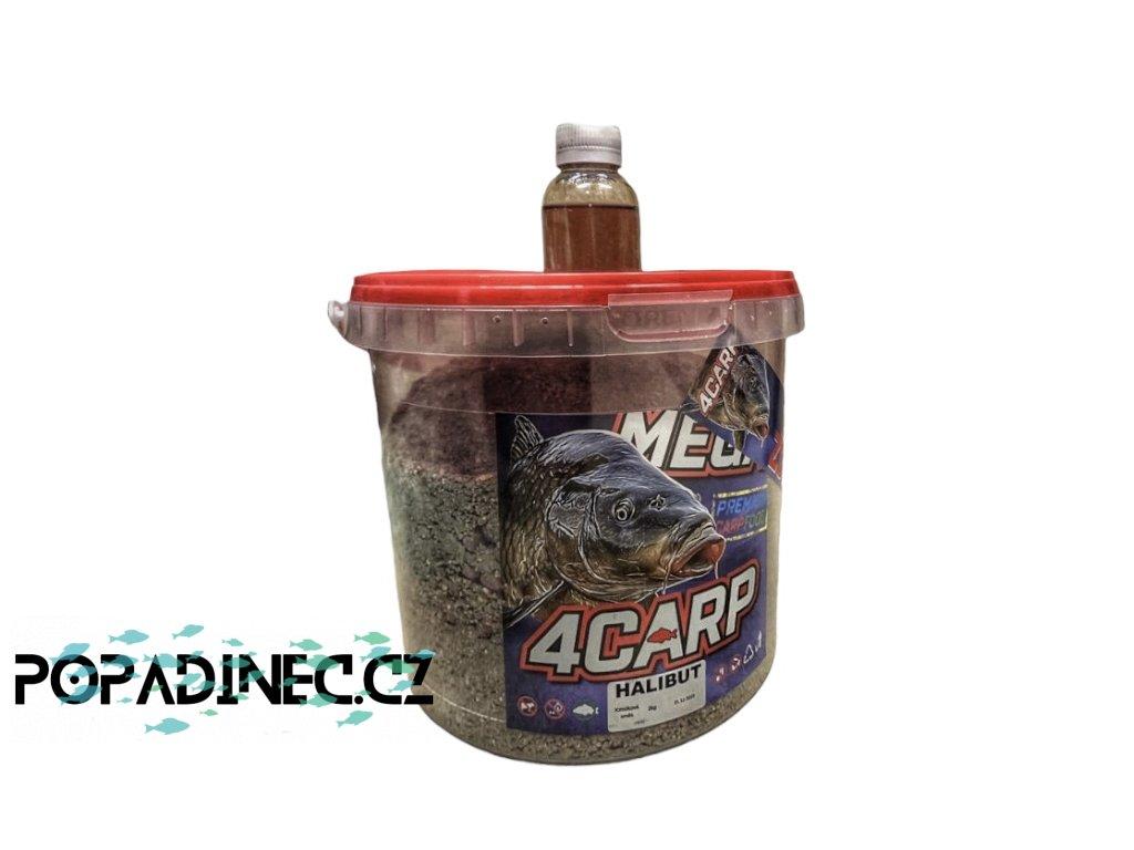 4carp kýbl 2kg krmítková směs+Dip