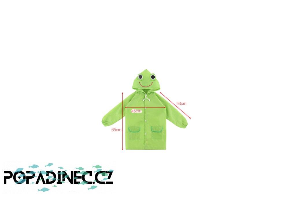 Dětská pláštěnka Žába