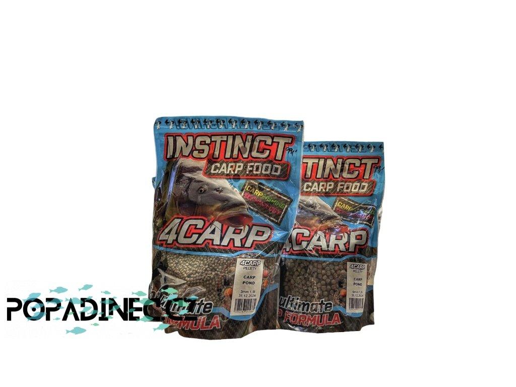 4Carp  peletky plovoucí pro bazén ryby 1,5lit