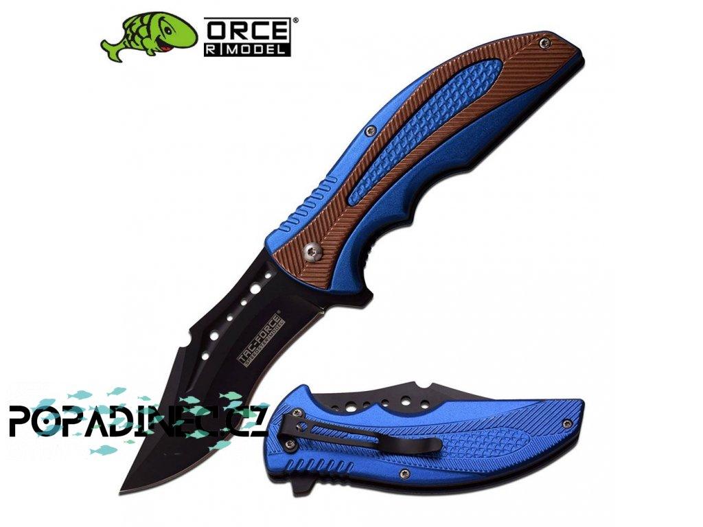 Nůž Tac-Force TF-931BL s pružinou