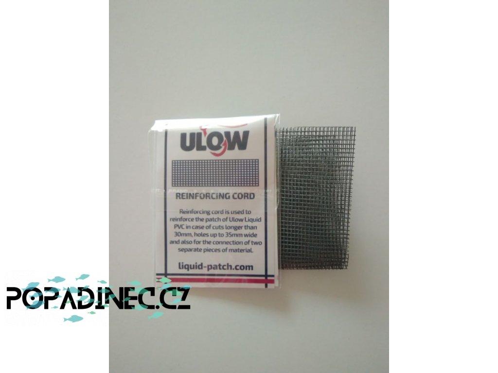 Zpevňovací pásek pro produkt Liquid Patch Rozměry: cca 25x2 cm