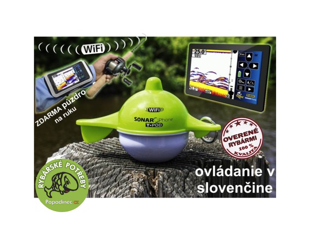 Vexilar Sonarphone SP100 Wifi nahazovací sonar