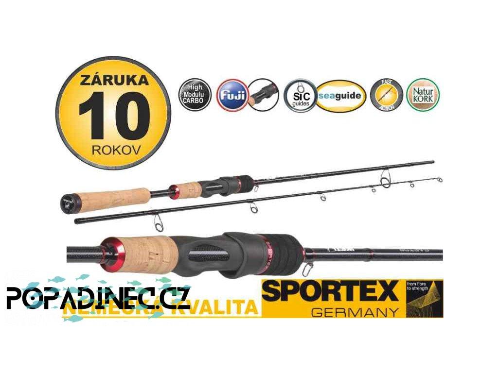 Přívlačové pruty Sportex Captor Spin 2-díl 270cm / 40g, 28-53g