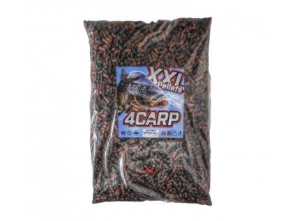 4Carp Krmné vnadící pelety 5kg 7mm z boilies těsta