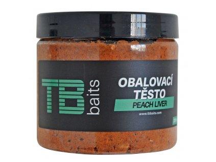 tb baits obalovaci pasta peach liver 200 ml