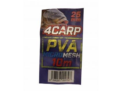 PVA 4Carp punčocha  průměr 25mm 10mt