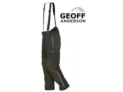Kalhoty Geoff Anderson Urus 6 zelené