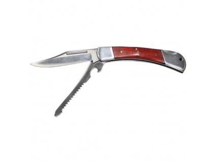 Nůž zavírací s pilkou HUNTER 22 cm